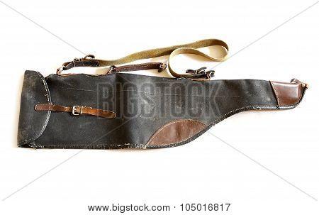 Very Old Vintage Shotgun Bag