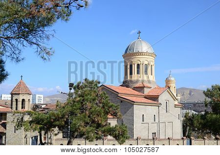 Cathedral In The City Of Gori, Shida Kartli Region, Georgia
