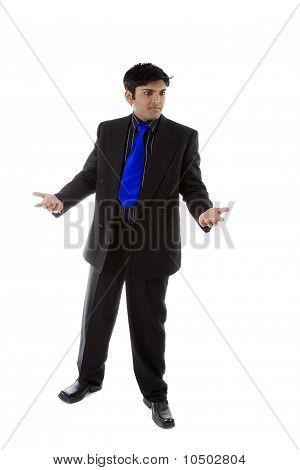 Male Model In Business Suit