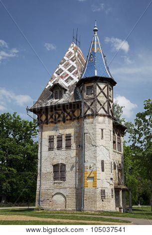 Old villa in Palic, Subotica, Serbia