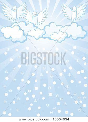 Angels And Snowfall