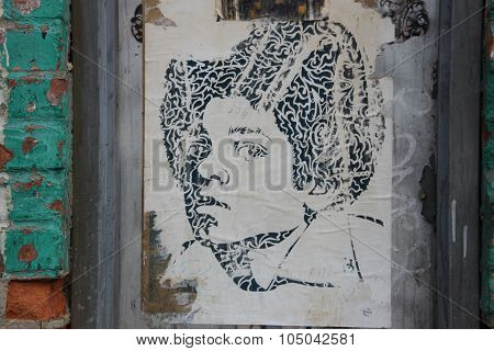 young michael jackson,street art new york