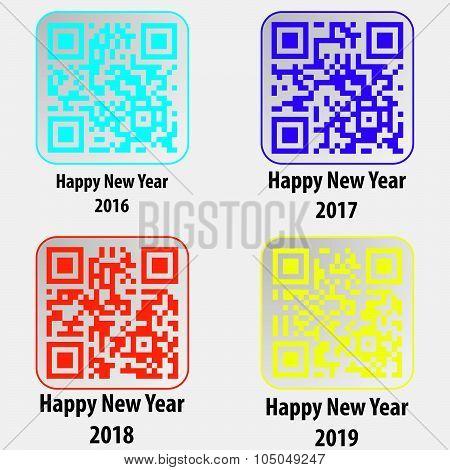 Happy New Year 2016 2017 2018 2019
