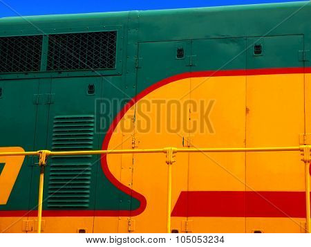 Close Up Train