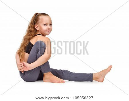 Kids Doing Yoga Exercises