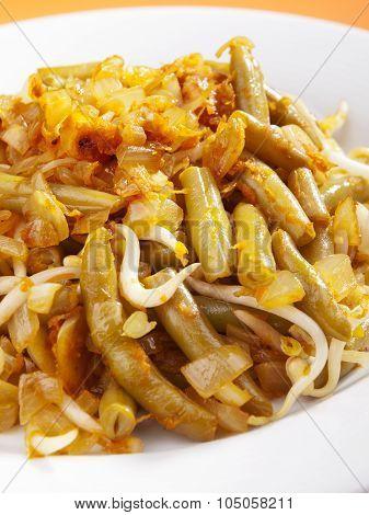 Indonesian Cuisine - Beans With Soya Sauce