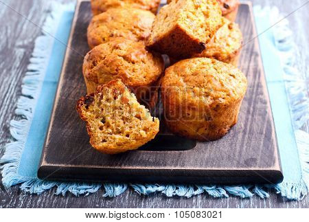 Fruit And Nut, Carrot Muffins