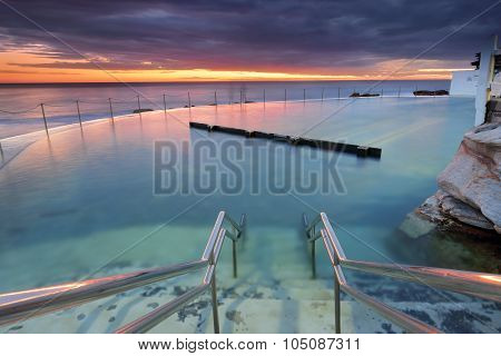 Bronte Pool At Dawn