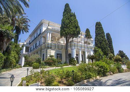 Achilleion At Corfu, Greece