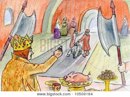 The Queen And Servants