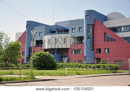 MOSCOW RUSSIA 05.28.2015 - Department of the Military Commissariat in Zelenograd