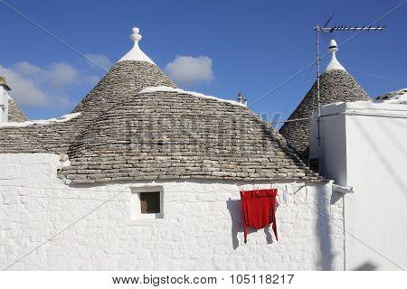 Trulli house of Alberobello