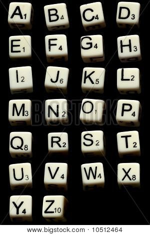 Letter Dices