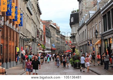 OLD MONTREAL, RUE ST. PAUL