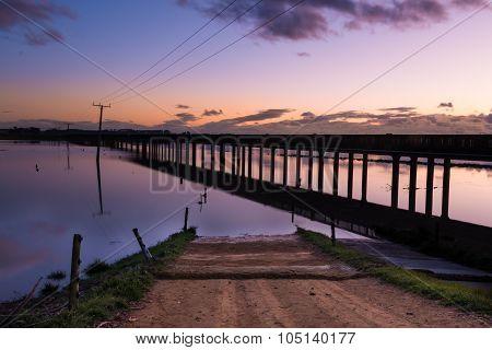 Trestle Bridge Dawn
