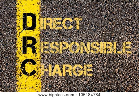 Business Acronym Drc As Direct Responsible Charge