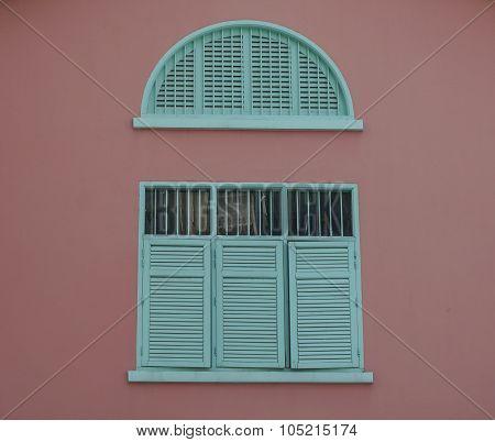 Vintage Window In Singapore