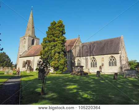 St Mary Magdalene Church In Tanworth In Arden