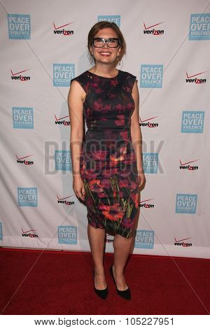 LOS ANGELES - OCT 16:  Gemma Baker at the 44th Annual Peace Over Violence Humanitarian Awards at the Dorothy Chandler Pavilion on October 16, 2015 in Los Angeles, CA