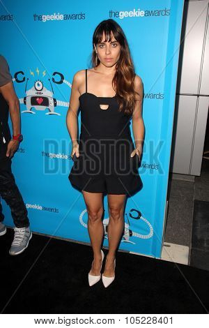 LOS ANGELES - OCT 15:  Ashley C. Williams at the 2015 Geekie Awards at the Club Nokia on October 15, 2015 in Los Angeles, CA