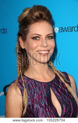 LOS ANGELES - OCT 15:  Michele Morrow at the 2015 Geekie Awards at the Club Nokia on October 15, 2015 in Los Angeles, CA