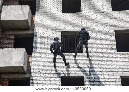 SWAT assault operation