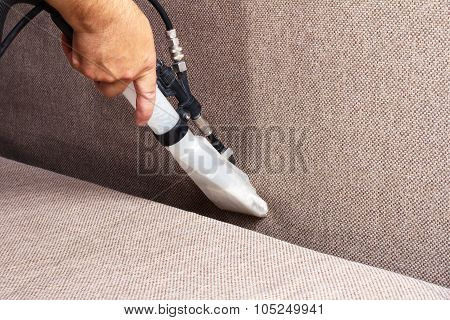 Cleaning sofas
