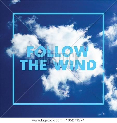 Follow the wind vector template