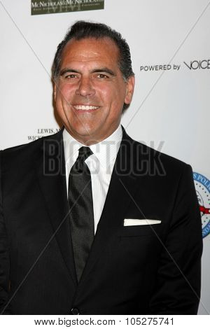 LOS ANGELES - OCT 17:  Rocky Delgadillo at the  LAPD Eagle & Badge Foundation Gala at the Century Plaza Hotel on October 17, 2015 in Century City, CA