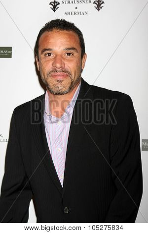 LOS ANGELES - OCT 17:  Michael Irby at the  LAPD Eagle & Badge Foundation Gala at the Century Plaza Hotel on October 17, 2015 in Century City, CA