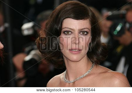 CANNES, FRANCE - MAY 24: Actress Anna Mouglalis attends the 'Coco Chanel & Igor Stravinsky' Premiere at the Grand Theatre Lumiere during the 62 Cannes Film Festival on May 24, 2009 in Cannes, France