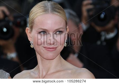 CANNES, FRANCE - MAY 20: Naomi Watts attends the 'Fair Game' Premiere held at the Palais des Festivals during the 63rd  Cannes Film Festival on May 20, 2010 in Cannes, France.