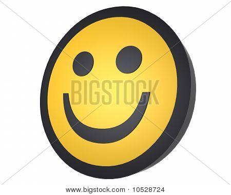 Smiling Face CG Render
