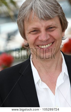 CANNES, FRANCE - MAY 15: Director Andreas Dresen attends the 'Halt Auf Freier Strecke' photocall at the Palais des Festivals during the 64th Cannes Film Festival on May 15, 2011 in Cannes, France.