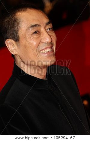 BERLIN, GERMANY - FEBRUARY 13: Director Zhang Yimou attends 'The Flowers of War' Premiere during  of the 62nd Berlin  Film Festival at the Berlinale Palast on February 13, 2012 in Berlin, Germany.