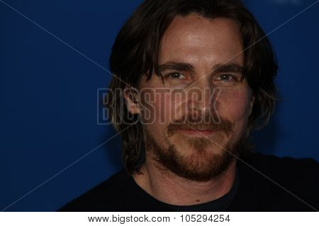 BERLIN, GERMANY - FEBRUARY 13: Christian Bale attends 'The Flowers of War' Photocall during  of the 62nd Berlin International Film Festival at the Grand Hyatt on February 13, 2012 in Berlin, Germany