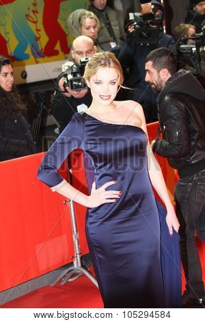 BERLIN, GERMANY - FEBRUARY 15:  Carolina Herrera Bang attends the 'La Chispa De La Vida' Premiere during of the 62 Berlin Festival at the Friedrichstadtpalast on February 15, 2012 in Berlin, Germany.