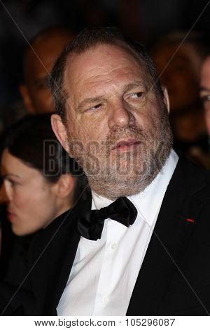 CANNES, FRANCE - MAY 19: Harvey Weinstein walk the carpet for 'Antiviral' during the 65th  Cannes  Festival at Palais des Festivals on May 19, 2012 in Cannes, France.