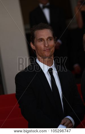 CANNES, FRANCE - MAY 24: Matthew McConaughey attends the 'The Paperboy' premiere during the 65th Cannes Film Festival at Palais des Festivals on May 24, 2012 in Cannes, France