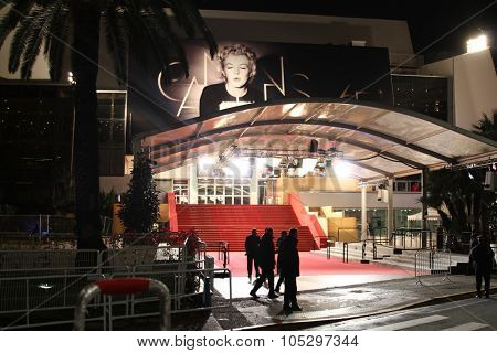 CANNES, FRANCE - MAY 21: A general view of atmosphere Palais des Festivals on  during the 65th Annual Cannes Film Festival on May 21, 2012 in Cannes, France.