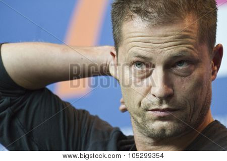 BERLIN, GERMANY - FEBRUARY 09: Til Schweiger attends the 'The Neccessary Death of Countryman' Press Conference during the 63rd Berlinale Festival at Hyatt Hotel on February 9, 2013 in Berlin, Germany.