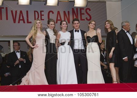 CANNES, FRANCE - MAY 16:   Emma Watson attends the Premiere of 'Jeune & Jolie' (Young & Beautiful) at The 66th Annual Cannes Film Festival at Palais des Festivals on May 16, 2013 in Cannes, France.