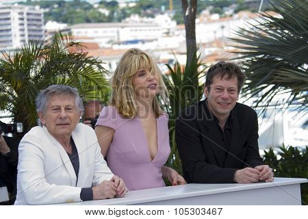CANNES, FRANCE - MAY 25: Emmanuelle Seigner attends the 'La Venus A La Fourrure' Photocall during the 66th Annual Cannes Film Festival on May 25, 2013 in Cannes, France.