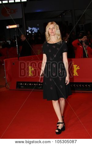 BERLIN, GERMANY - FEBRUARY 10: Sandrine Kiberlain attends the 'Life of Riley' (Aimer, boire et chanter) premiere during 64th Berlinale  Festival at  Palast on February 10, 2014 in Berlin, Germany