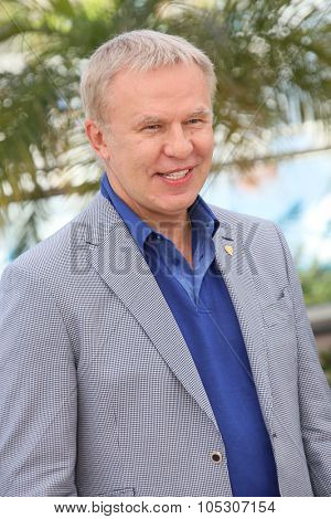 CANNES, FRANCE - MAY 16: Slava Fetisov attends the 'Red Army' photocall during the 67th Annual Cannes Film Festival on May 16, 2014 in Cannes, France.