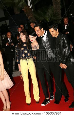 CANNES, FRANCE - MAY 22: Charlotte Gainsbourg, Asia Argento and Gabriel Garko attend the 'Misunderstood' (Incompressa) premiere during the 67th  Cannes  Festival on May 22, 2014 in Cannes, France.