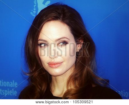 BERLIN, GERMANY - FEBRUARY 11: Angelina Jolie attends the 'In The Land Of Blood And Honey' Photocall during of the 62nd Berlin Film Festival at the Grand Hyatt on February 11, 2012 in Berlin, Germany