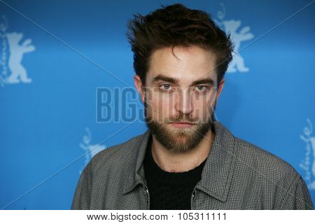 BERLIN, GERMANY - FEBRUARY 09: Robert Pattinson attends the 'Life' photocall during the 65th Berlinale Film Festival at Grand Hyatt Hotel on February 9, 2015 in Berlin, Germany.