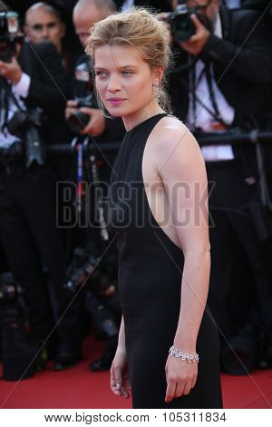 Melanie Thierry attends the Premiere of 'Carol' during the 68th annual Cannes Film Festival on May 17, 2015 in Cannes, France.