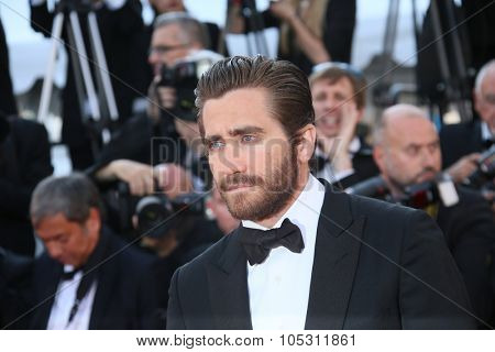 Jake Gyllenhaal attends the 'Carol' Premiere during the 68th annual Cannes Film Festival on May 17, 2015 in Cannes, France.